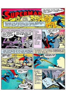How Superman would end the war