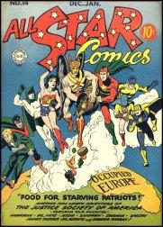 All Star Comics 14 (janvier 1943)