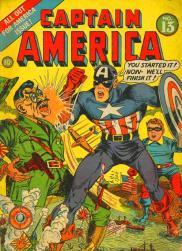 Captain America Comics 13, avril 1942