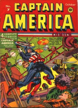 Captain America Comics 7 (octobre 1941)