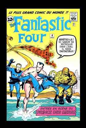 Les Quatre Fantastiques 4 (mai 1962)