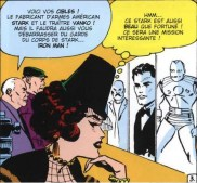 Natasha Romanoff/La Veuve Noire. Case extraite de Tales of Suspens 52 (avril 1964).
