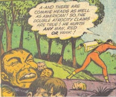 Case extraite de Captain Marvel Adventures 141 (février 1953)