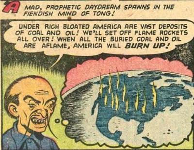 Case extraite de The Marvel Family 80 (février 1953)