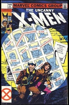 The Uncanny X-men 141 (mai 1981)