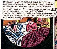 Case extraite de Batman 84 (juin 1954)
