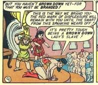 Case extraite de Sensation Comics 31 (juillet 1944)