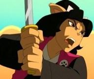 Tomoe. Image extraite de Tortues ninja (2003)