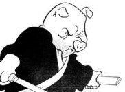Zato-Ino. Image extraite de Usagi Yojimbo