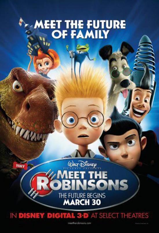 2007 Meet the Robinsons Poster 549x800 Les affiches des 53  films Disney de 1937 à 2013  design cinema 2 art