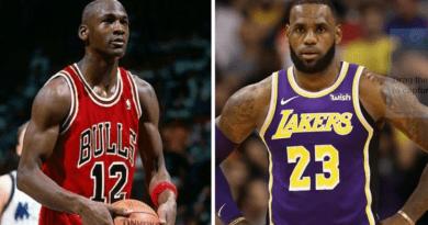 """LeBron James recordó el día que conoció a Michael Jordan: """"Fue como encontrar a Dios"""""""
