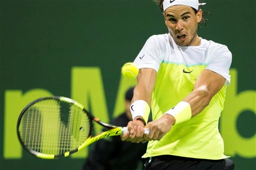 Nadal avanza a la remaining en Catar