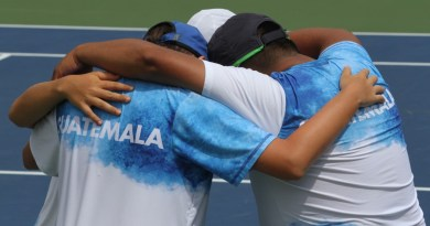 Guatemala gana torneo World Junior Tennis