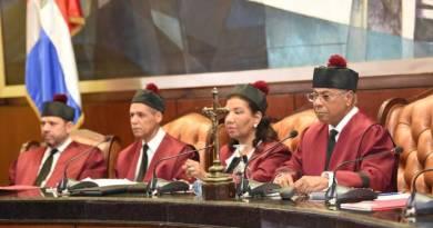 Tribunal Constitucional aclara no procede amparo contra posible reforma constitucional