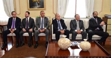"""Medina se reúne con empresarios y hablan sobre la alianza  """"para construir juntos un mejor país""""."""