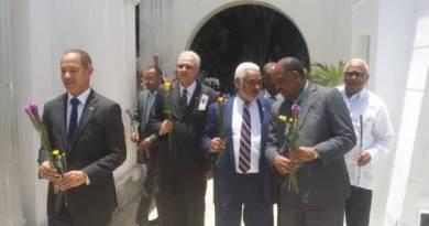 Presidente de la Cámara de Diputados Radhamés Camacho da garantía  unidad en el PLD