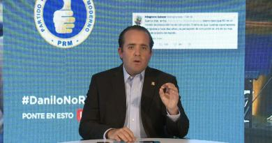 Paliza advierte el PRM no propiciará permanencia en el poder de un grupito