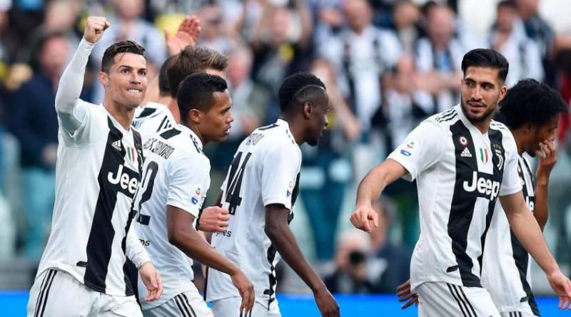 Juventus logra récord de títulos seguidos de las 5 grandes ligas europeas