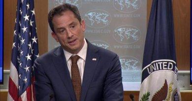 """Estados Unidos calificó de """"ridícula y absurda"""" inhabilitación de Juan Guaidó"""