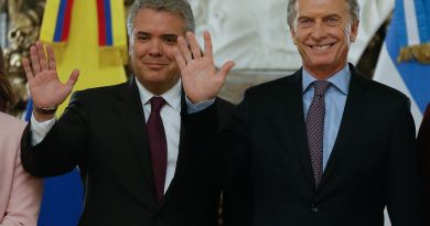 """Macri y Duque piden cese de """"usurpación"""" y vuelta de """"democracia"""" a Venezuela"""