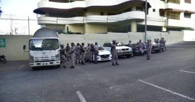 Policia rodea la sede de Odebrecht en Santo Domingo ante amenazas de  protestas
