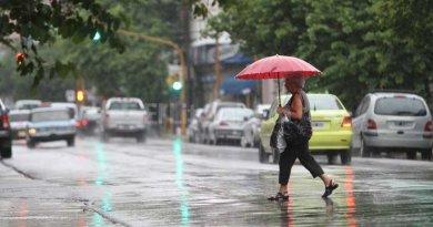 Meteorología anuncia aguaceros con tronadas en varias provincias