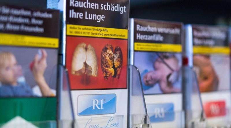 Fotos sobre cajas de tabaco pueden ser menos expuestas en Alemania