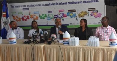 Ministerio de Salud recibe donacion de 500 mil unidades de cloro Macier