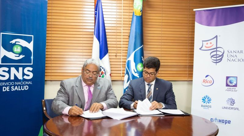 Acuerdo entre Sanar una Nación y SNS busca reducir mortalidad materna-infantil