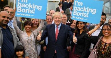 Boris Johnson anuncia 20 mil nuevos policías a su llegada al Gobierno