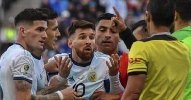Messi estalla contra Conmebol tras ser expulsado en el partido ante Chile