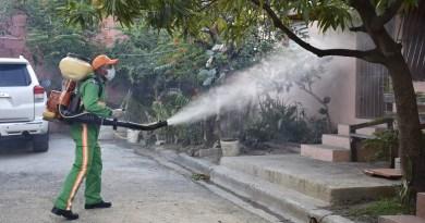 Autoridades de salud de SPM realizaron movilización contra dengue