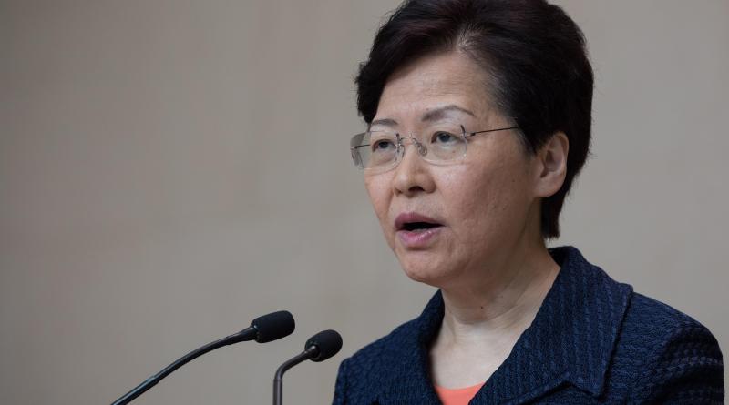 Lam condena cualquier intento de interferir en Hong Kong por parte de EE.UU.