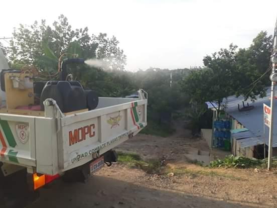 Comipol dice que interviene San José de Ocoa en operativos contra el dengue