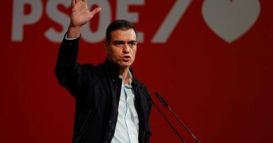 """Sánchez llama a la movilización para acabar con el """"bloqueo"""" político español"""