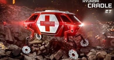 ¿Un coche con patas? Hyundai presenta un todoterreno con extremidades que trepa paredes