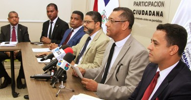 Aspirantes a la presidencia del CARD piden intervención de Participación Ciudadana en comicios