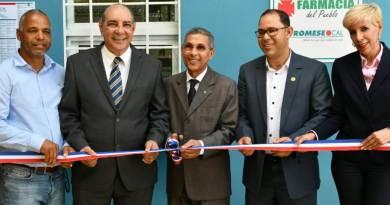 Promese/Cal inaugura tres farmacias del pueblo en Moca
