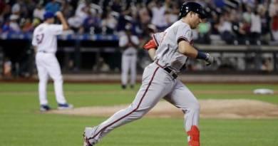 Riley corona ataque con jonrón; Bravos superan a Mets