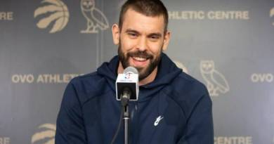 Marc Gasol acepta opción de un año para quedarse con Raptors
