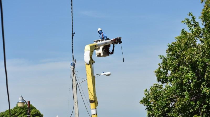 Edenorte instala servicio de 24 horas en Guatapanal y Hato Nuevo, en Mao