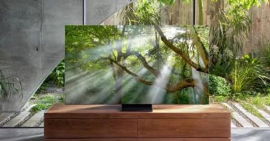 """Samsung presentó su nuevo televisor QLED sin marcos, con resolución 8K y """"mayordomo digital"""""""