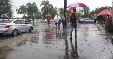 Vaguada provocará lluvias moderadas en gran parte del país