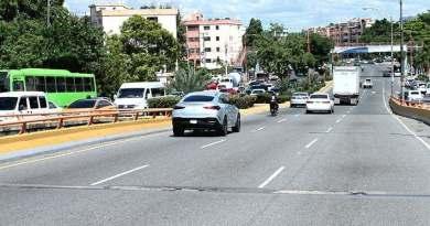 MOPC dispone cierre de Expreso Quinto Centenario a partir de las 8:00 pm