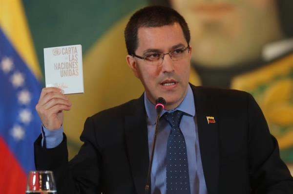El canciller Arreaza se mofa de propuesta de Colombia en la OEA sobre Venezuela