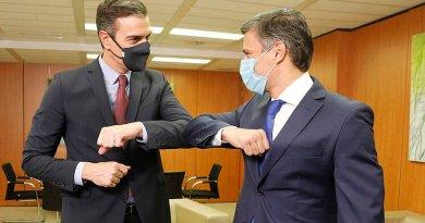 Pedro Sánchez recibe en Madrid a opositor venezolano Leopoldo López