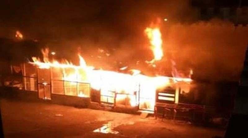 Sofocan incendio en La Victoria; Prisiones informa no hubo daños humanos lamentables
