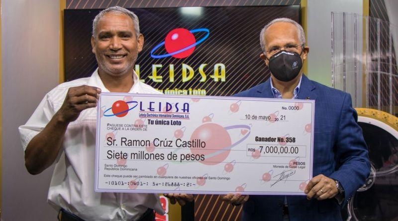 Apareció el ganador de RD$7 millones no reclamados de Leidsa