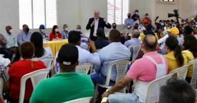 Domínguez Brito recibe apoyo en la línea noroeste