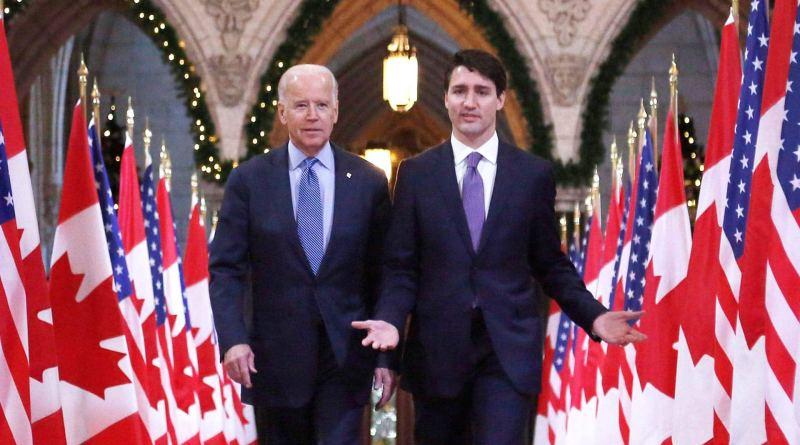 Biden felicita a Trudeau por su reelección